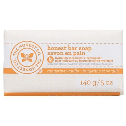 The Honest Company Honest Bar Soap in Tangerine Vanilla Scent