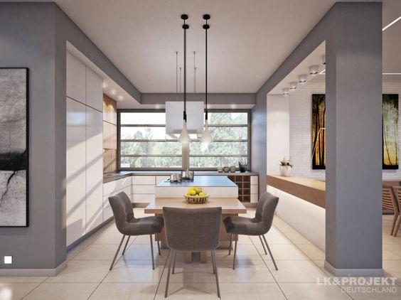 Moderne Küchen strahlen nicht nur coolen Hightech und stylishes Design aus, sondern laden mit gemütlichen Sitzecken zum Verweilen ein.