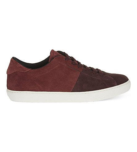 Casseta suede low-top trainers