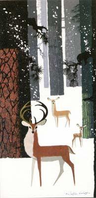*Ralph Hulett* deer in forest