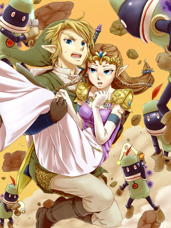 Smash Bros: Subspace Emissary. Duty Calls! (Personally I think THIS Zelda can take care of herself)