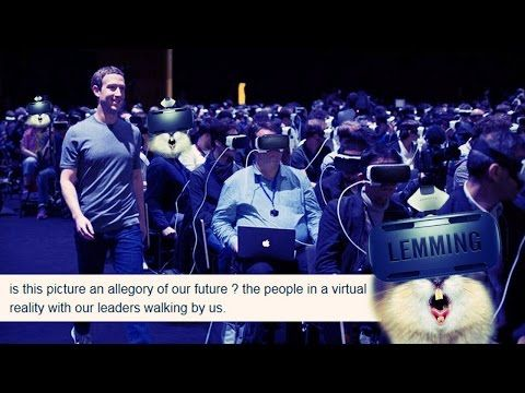 Zuckerberg's Virtual Reality Photo: Our Future in the Matrix  https://youtu.be/eAJN45l7bqs