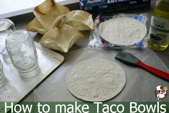 How to make Taco Bowls PocketChangeGourmet.com