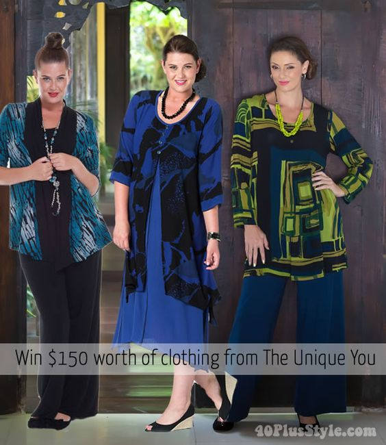 40plusstyle.com is celebrating 2 years with a huge giveaway! The Unique You specializes in australian clothing for women with plus sizes from 14-24. You will find brands like Kita Ku, Samaya Moods and others. Choose any item from their online store of up to $150 in value!