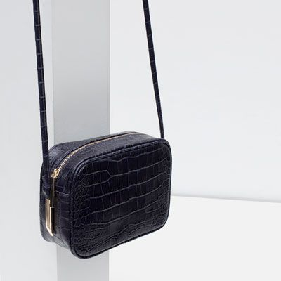 Image 3 of EMBOSSED CROSS BODY BAG from Zara