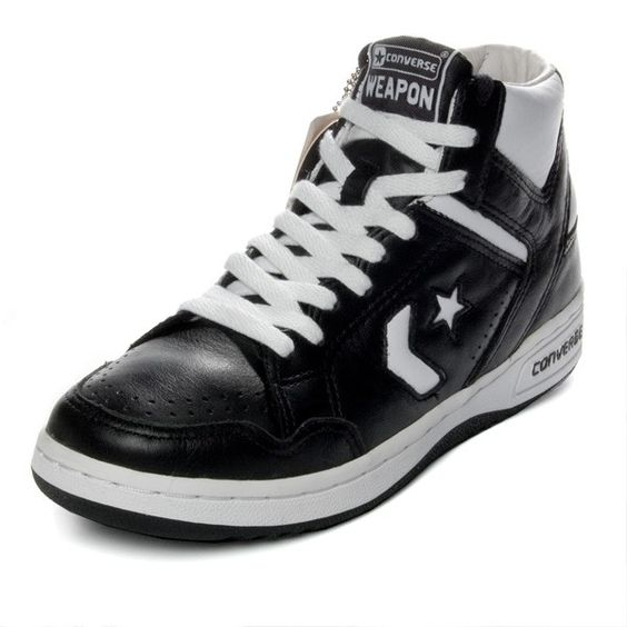 converse weapon black