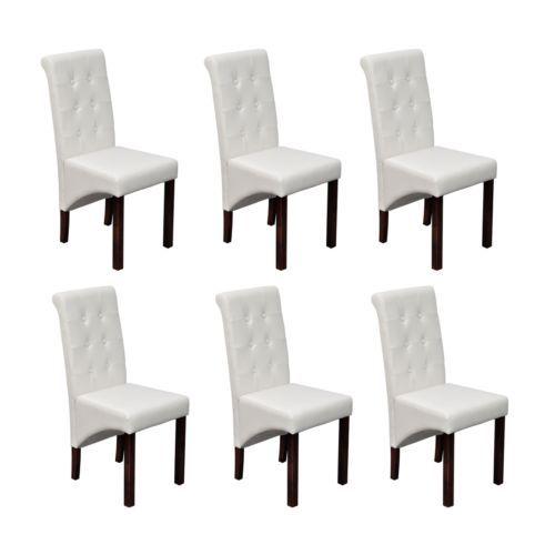 6 stühle stuhlgruppe hochlehner esszimmerstühle essgruppe, Esszimmer