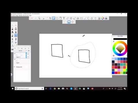 How To Copy Paste Duplicate Something In Autodesk Sketchbook