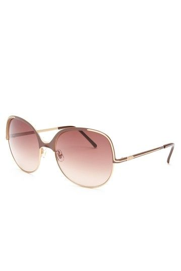 Chloe Women's Chocolate Sunglasses