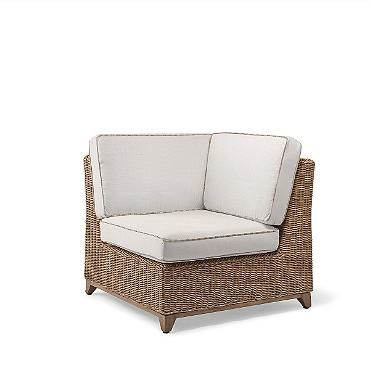 MASTER PATIO: Pair 2 with a side table between for interesting vignette.    Somerset Corner Chair with Cushions $1275 WITH 20%.