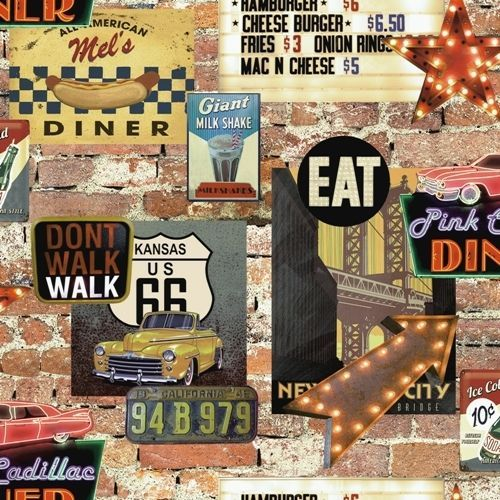 Diner Wallpapers, Diner Wallpapers for PC, HVGA 3:2, CW.P.373 ...