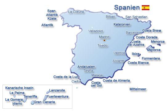 Spanien Urlaub: Tolle Angebote für Urlaubsreisen Spanien buchen ...