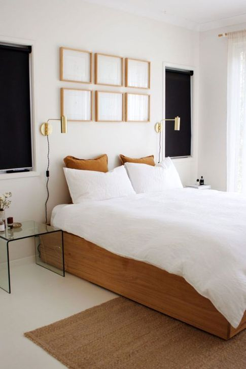 60 Minimalist But Beautiful White Bedroom Design Ideas Chambre