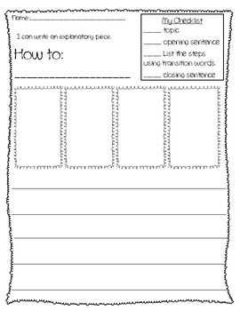 Informative essay worksheet