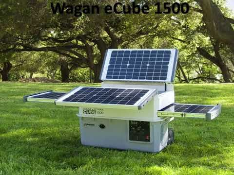 10 Best Solar Generators Youtube Solar Panels Best Solar Panels Portable Solar Generator