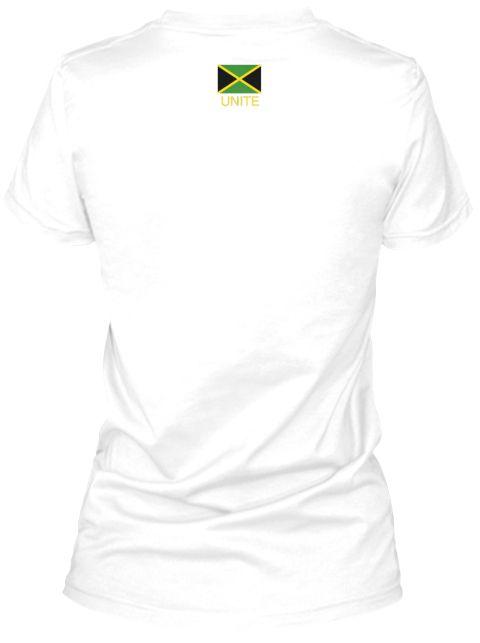 Unite White Women's T-Shirt Back