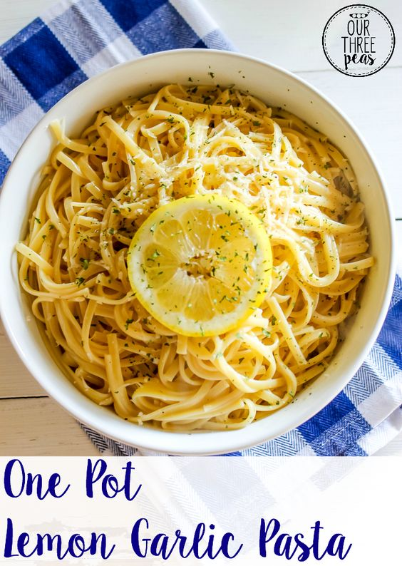 ... Garlic Pasta | Recipe | Lemon Garlic Pasta, Garlic Pasta and One Pot
