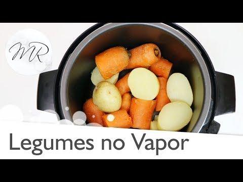 Hoje Ensinarei Em Video Como Cozinhar Legumes No Vapor Na Panela