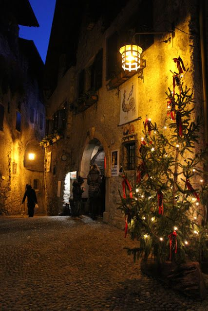 Mercantino di Natale in Canale die Tenno, Trentino / Garda Lake / Italy  Christmas Market