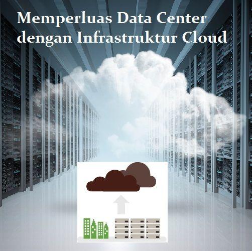 Dengan hadirnya layanan infrastruktur cloud, sebuah data center di perusahaan dapat menambah kapasitasnya secara real-time tanpa harus banyak investasi.