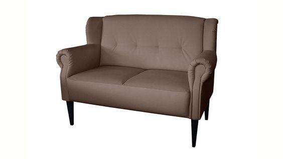 Jetzt Home affaire 2-Sitzer »Mara«, mit Federkern 499€ 142cm
