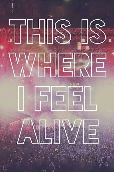 Live music is live for a reason. #concertsmakemefeelalive
