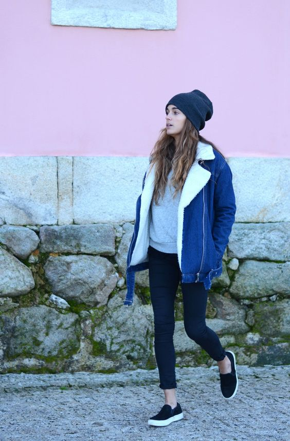 denim jacket for winter | stellawantstodie: