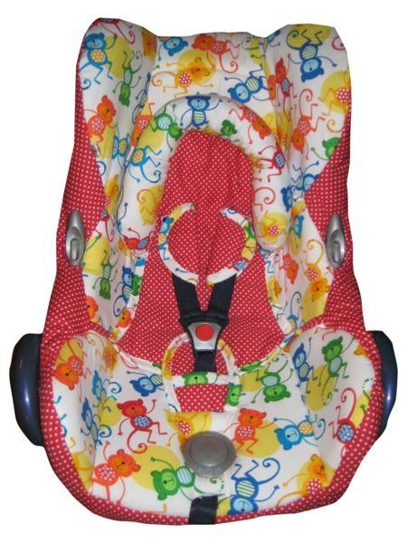 FebruarKonfetti Ersatzbezug Maxi Cosi Cabriofix  von me Kinderkleidung und ersatzbezuege auf DaWanda.com