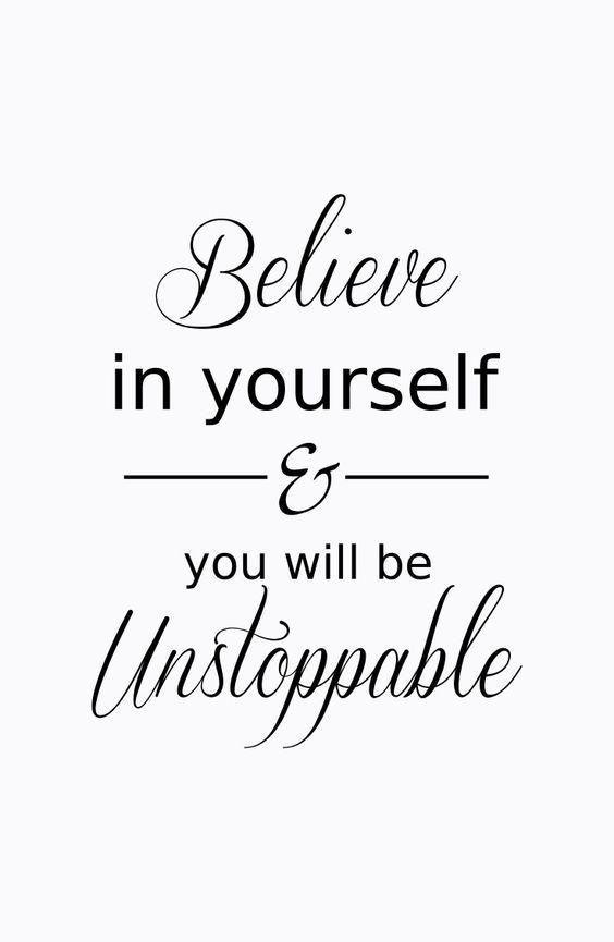 Inspirational Quotes // Nothing can absolutely come in your way if you believe in yourself.