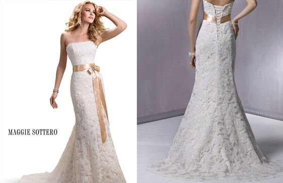 2000s wedding dress