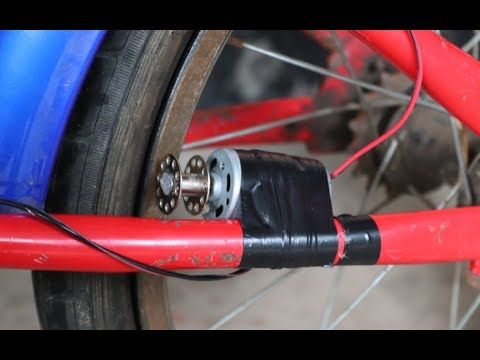 Diy Electric Bike How To Make Electric Bike At Home Youtube