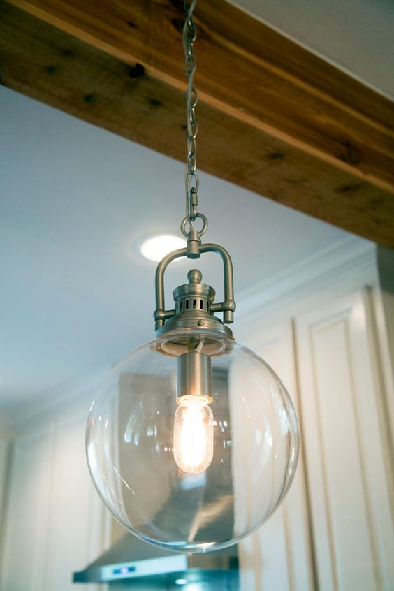 In Kitchen Edison Bulbs And Pendant Lights On Pinterest