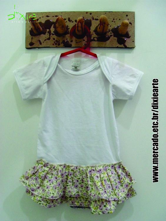 Body com Saia Flores  http://www.elo7.com.br/body-saia-flores/dp/35F05F