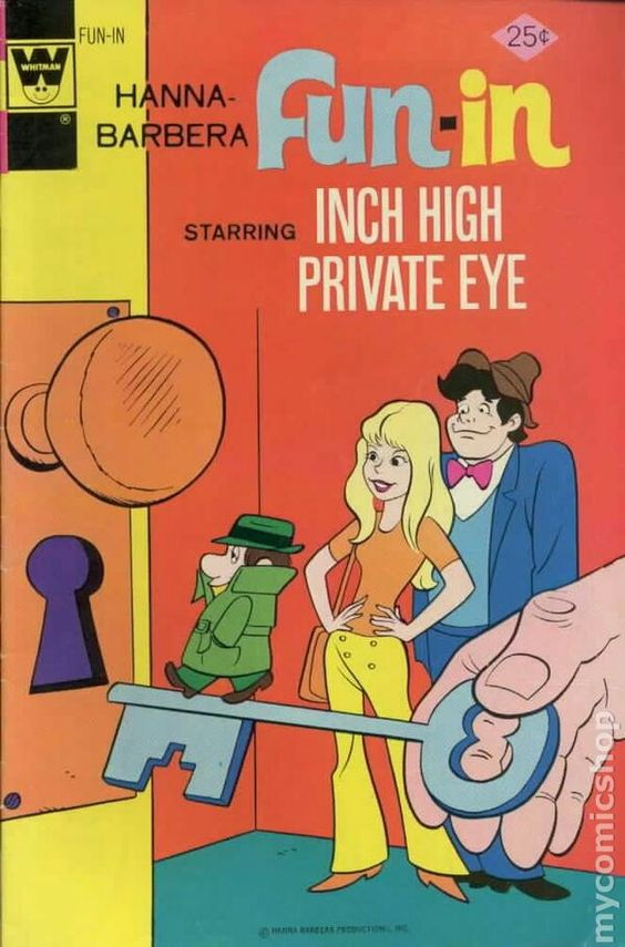 Hanna-Barbera fun-in (Inch High Private Eye)
