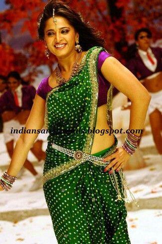 Gorgeous green bandhej saree