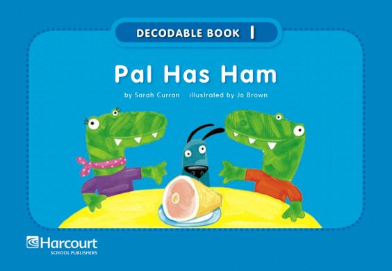This is a picture of Modest Free Printable Decodable Books for Kindergarten