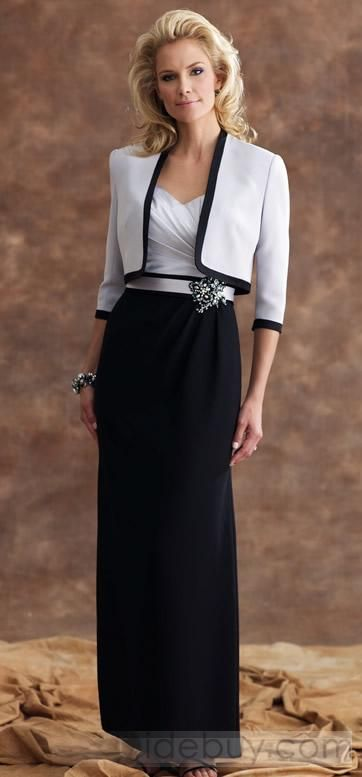 MOB - love the dress, love the style Beautiful! Saw one just like it at http://www.womensuitsupto34.com/