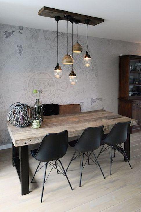 99 Captivating Farmhouse Dining Room Table Decorating Ideas