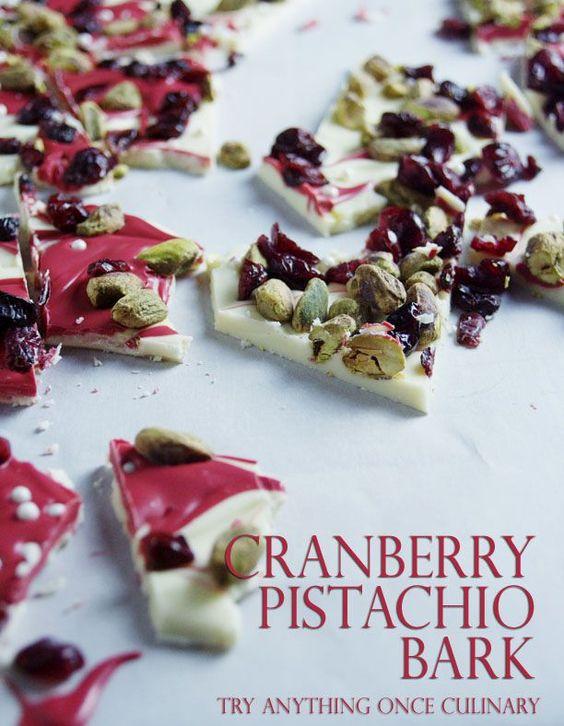 Cranberry Pistachio Bark | Recipe | Pistachios, Cranberries and Candy ...