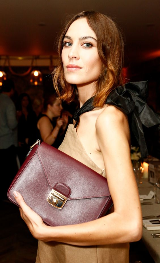 WHO: Alexa Chung WHERE: Longchamp & Alexa Chung Host a Private Dinner, New York City WHEN: June 23, 2015