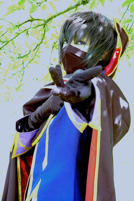 Lelouch Very true to character #cosplay #zero