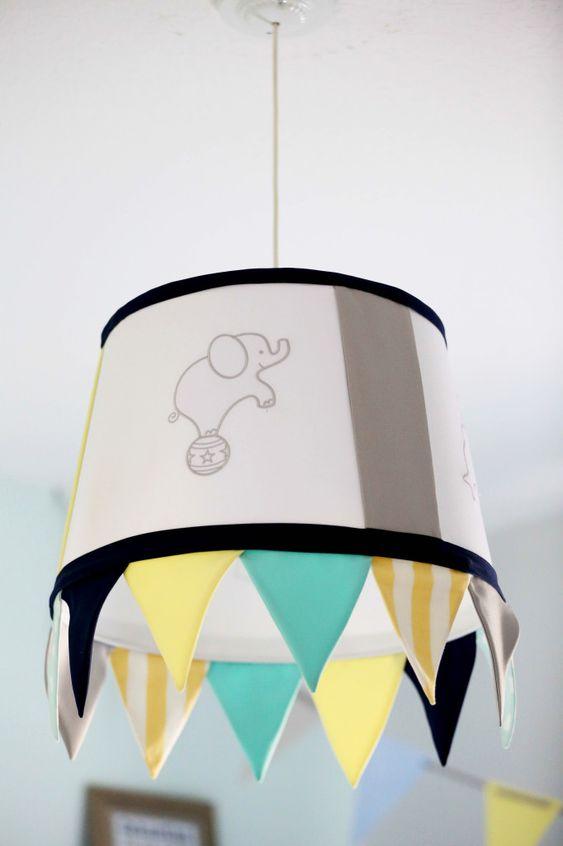 "Drum Light in the Nursery - ""Circus Lamp"""