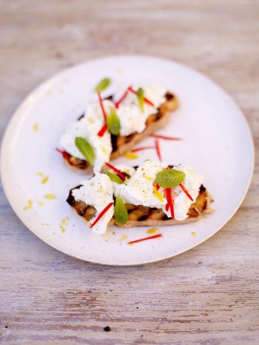 antipasti of mozzarella, chilli, & lemon crostini | Jamie Oliver | Food | Jamie Oliver (UK)