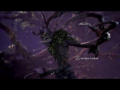 MHW: Killing Ancient Leshen & Rewards (Healer POV) - YouTube