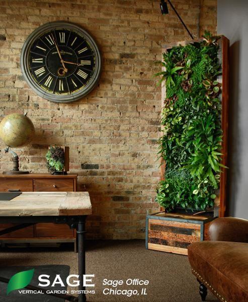 Interior | Sage Vertical Gardens | ~Home Decor~ | Pinterest | Interiors,  Gardens And Living Walls