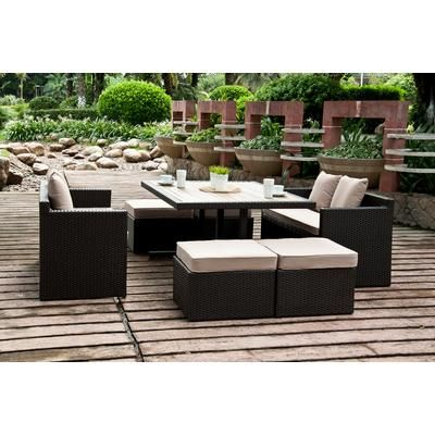 Sirio   SAHARA 7PC DINING SET BY SIRIO™   DS011   Home Depot Canada