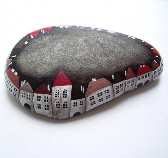 C mo hacer pisapapeles con piedras decoradas diy stones - Manualidades con piedras de playa ...