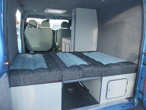 Convert Your Van Ltd - Ford Transit Camper Conversion