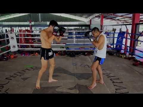 Two Basic Muay Thai Stances Explained Muay Thai Fundamentals Youtube Muay Thai Thai Stance