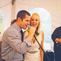 Tips, ideas and inspiration for wedding music (photo via Ruffled)